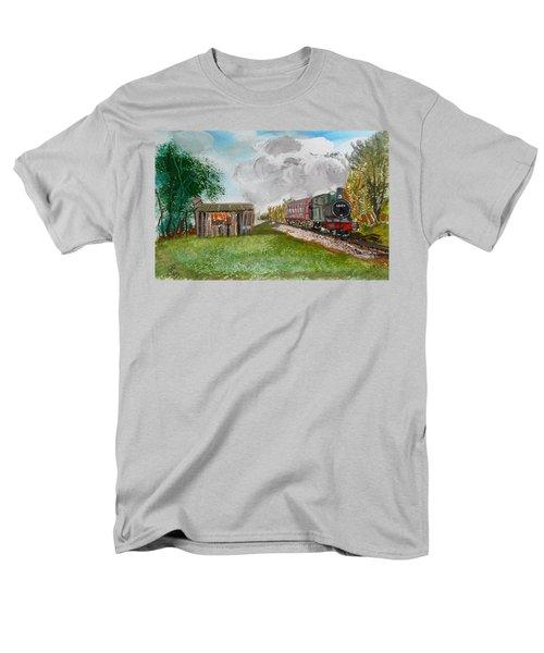 The Old Forsaken Shack Men's T-Shirt  (Regular Fit) by Carole Robins