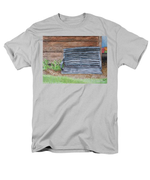 The Old Porch Swing Men's T-Shirt  (Regular Fit) by Jean Haynes