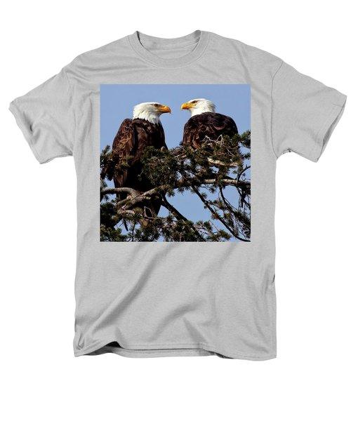 The Parents Men's T-Shirt  (Regular Fit) by Sheldon Bilsker