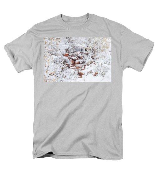The Poetic Beauty Of Freshly Fallen Snow  Men's T-Shirt  (Regular Fit) by Bijan Pirnia