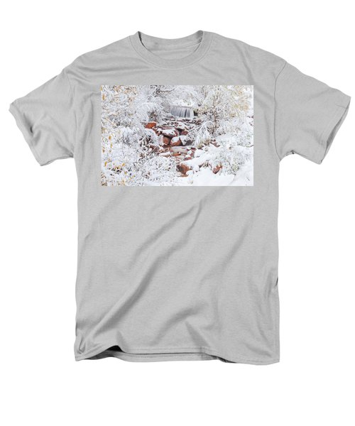 The Poetic Beauty Of Freshly Fallen Snow  Men's T-Shirt  (Regular Fit)