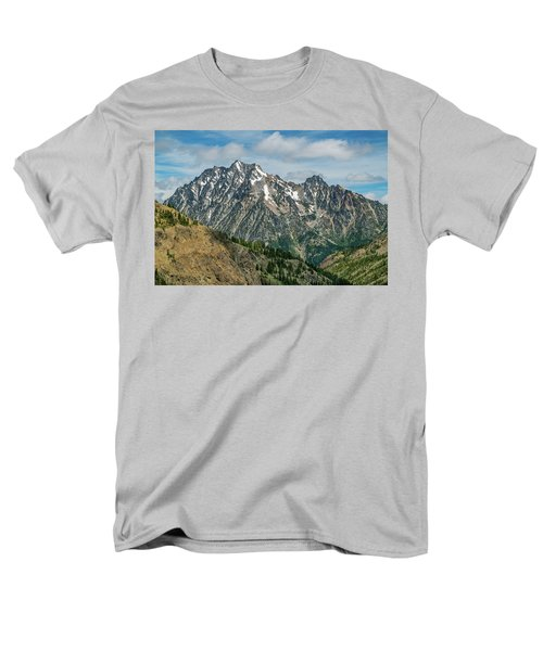 The Rock At Mount Stuart Men's T-Shirt  (Regular Fit) by Ken Stanback