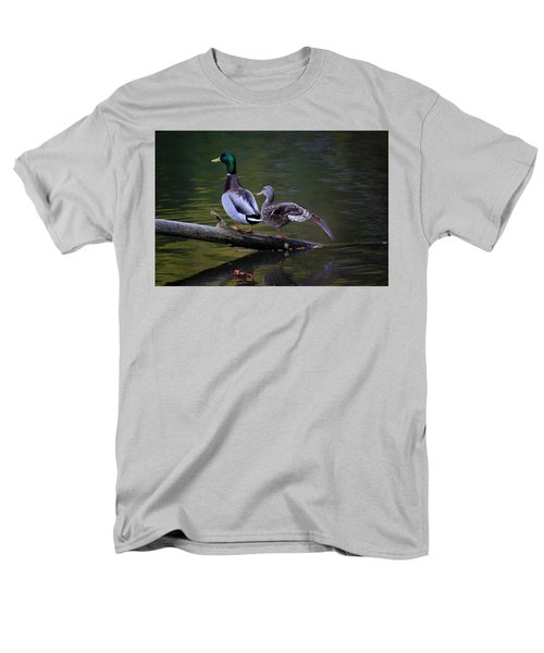 The Seventh Inning Stretch Men's T-Shirt  (Regular Fit) by Gary Hall