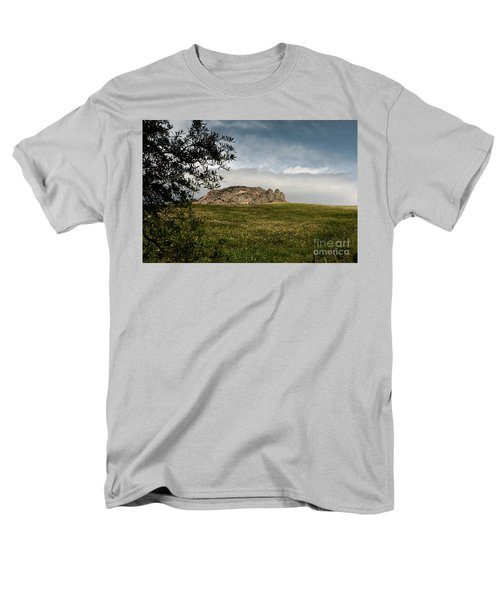 Men's T-Shirt  (Regular Fit) featuring the photograph The Three Fingers by Bruno Spagnolo