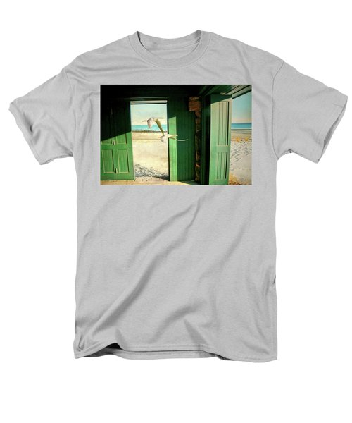 Men's T-Shirt  (Regular Fit) featuring the photograph The Thruway by Diana Angstadt