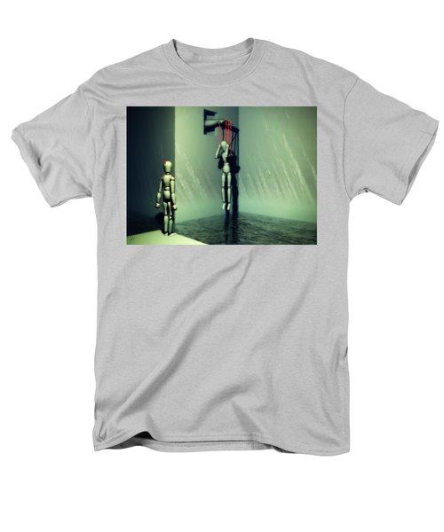 The Truthsayer Meets Denial Men's T-Shirt  (Regular Fit)