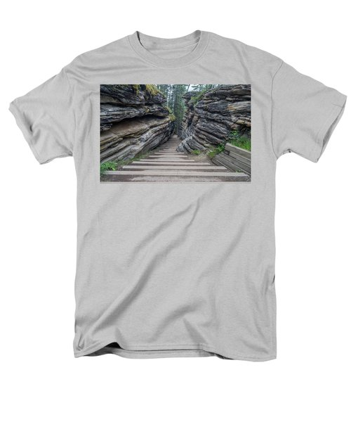 The Unknown Path Men's T-Shirt  (Regular Fit) by Alpha Wanderlust