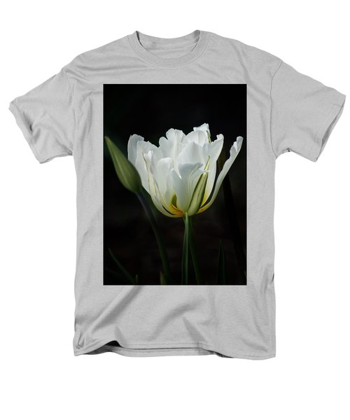 The White Tulip Men's T-Shirt  (Regular Fit) by Richard Cummings
