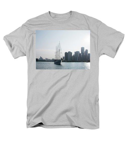 The Windy City Men's T-Shirt  (Regular Fit) by John Black
