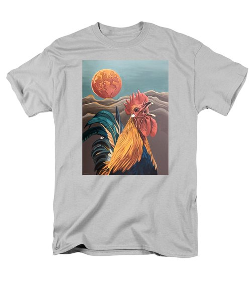 There Will Be A Great Rescue Men's T-Shirt  (Regular Fit) by Nathan Rhoads