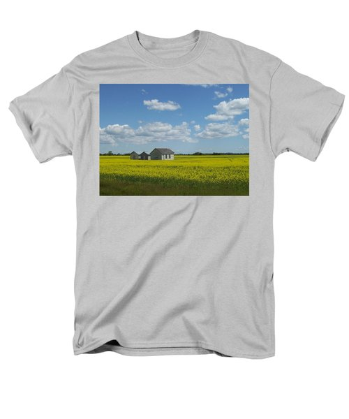 Men's T-Shirt  (Regular Fit) featuring the photograph Three Of A Kind by Mary Mikawoz