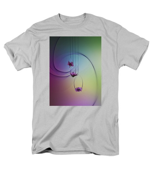 Men's T-Shirt  (Regular Fit) featuring the photograph Three Swings by Judy Johnson