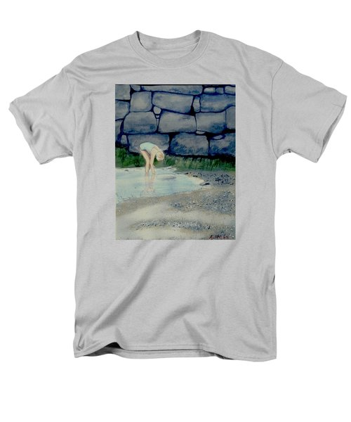Tidal Pool Treasures Men's T-Shirt  (Regular Fit) by Anthony Ross