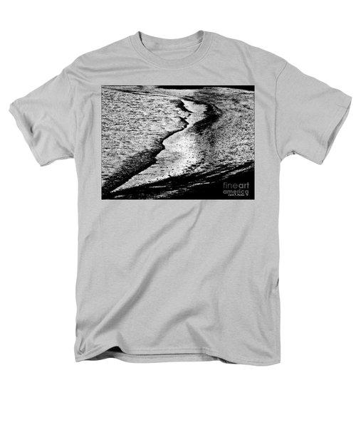 Tidal Wave Reaching For The Shoreline Men's T-Shirt  (Regular Fit) by Carol F Austin