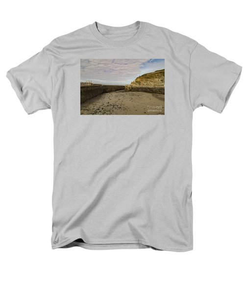 Men's T-Shirt  (Regular Fit) featuring the photograph Tide Out Portreath by Brian Roscorla