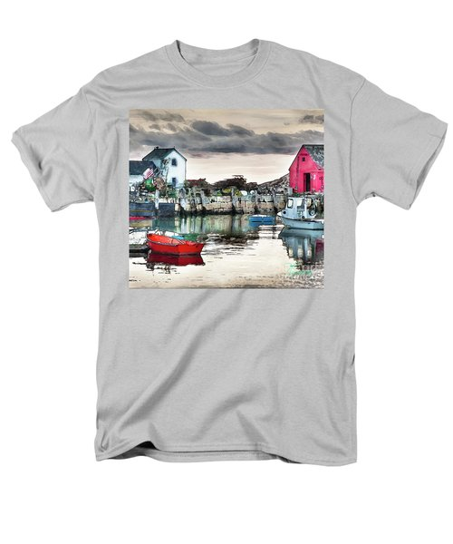 Men's T-Shirt  (Regular Fit) featuring the photograph Tide's Out by Tom Cameron