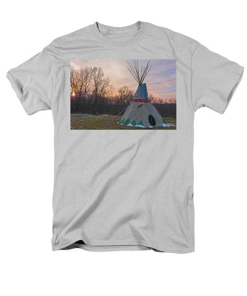 Tipi Sunset Men's T-Shirt  (Regular Fit) by Angelo Marcialis