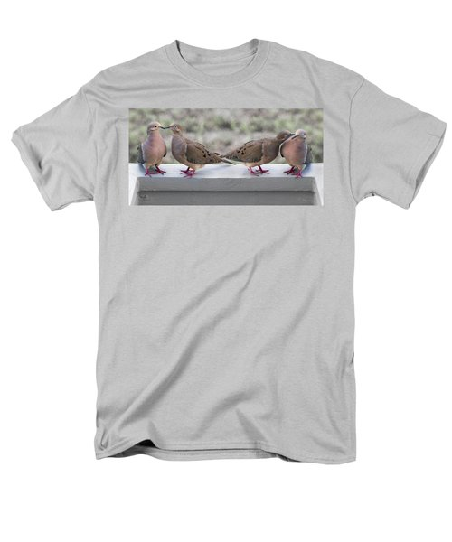 Together For Life Men's T-Shirt  (Regular Fit) by Betsy Knapp