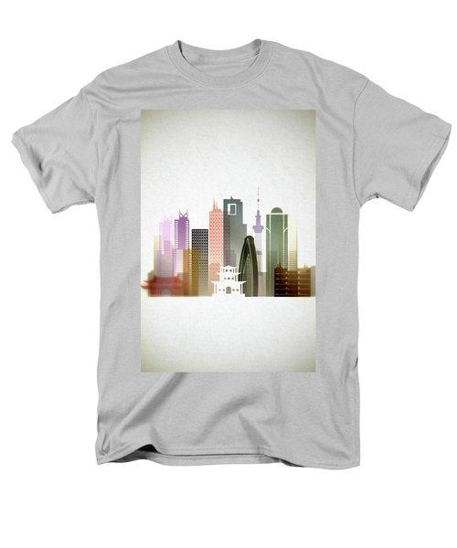 Tokyo  Cityscape Men's T-Shirt  (Regular Fit) by Dim Dom