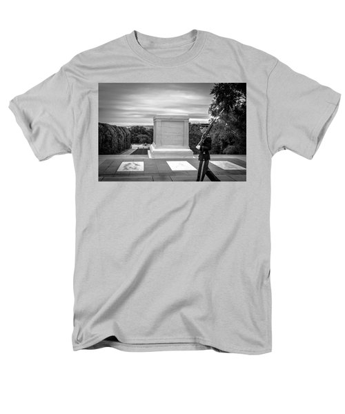 Men's T-Shirt  (Regular Fit) featuring the photograph Tomb Of The Unknown Solider by David Morefield