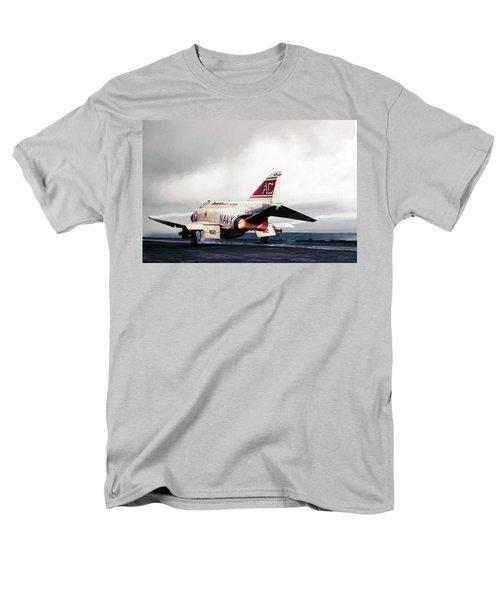 Men's T-Shirt  (Regular Fit) featuring the digital art Tomcatter Launch by Peter Chilelli