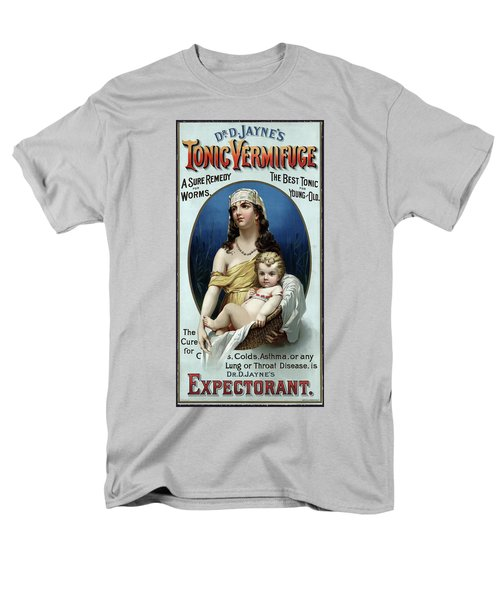 Men's T-Shirt  (Regular Fit) featuring the photograph Tonic Vermifuge Patent Medicine 1889 by Daniel Hagerman