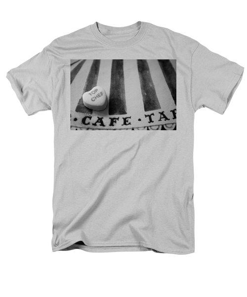 Top Chef Candy Heart Men's T-Shirt  (Regular Fit) by Toni Hopper