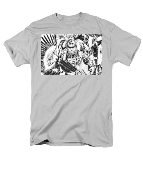 Men's T-Shirt  (Regular Fit) featuring the photograph Traditional Dancer  by Clarice Lakota