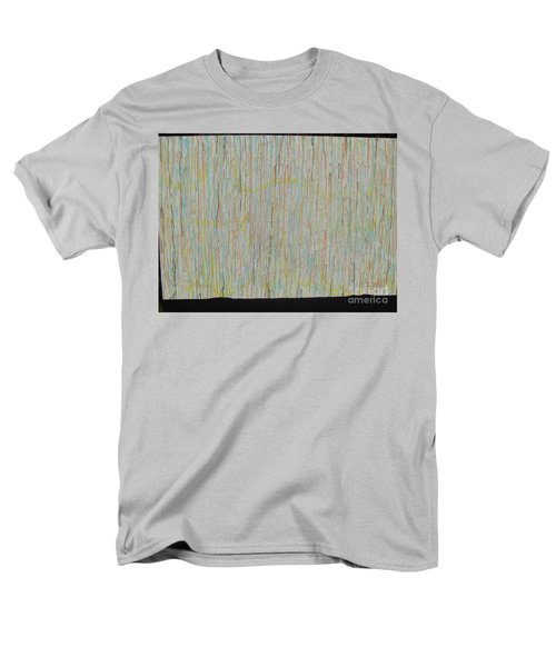 Men's T-Shirt  (Regular Fit) featuring the painting Tranquility by Jacqueline Athmann