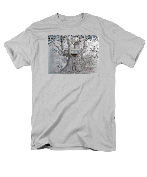 Tree House #2 Men's T-Shirt  (Regular Fit) by Jim Hubbard