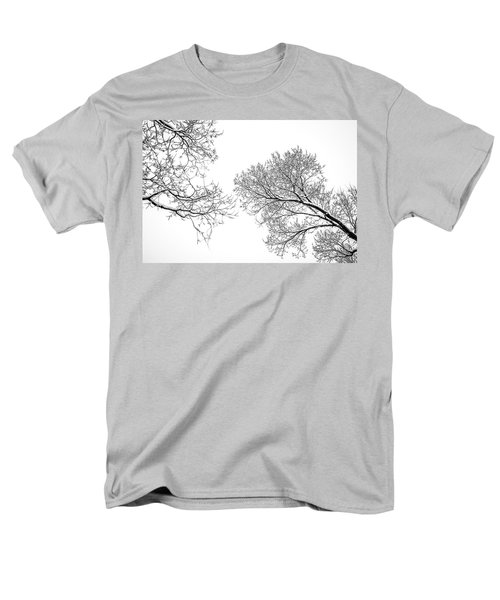Men's T-Shirt  (Regular Fit) featuring the photograph Trees Reaching by Marilyn Hunt