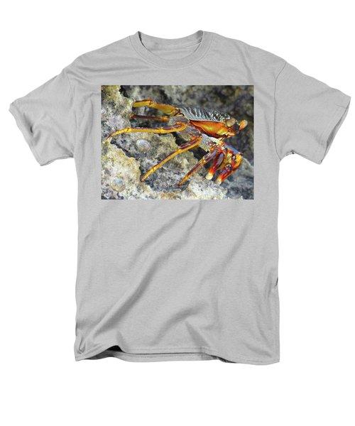 Turtle Bay Resort Watamu Kenya Rock Crab Men's T-Shirt  (Regular Fit) by Exploramum Exploramum