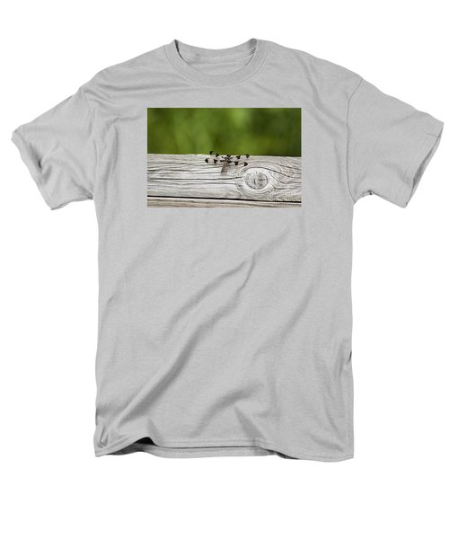 Men's T-Shirt  (Regular Fit) featuring the photograph Twelve Spotted-skimmer 20120703_213a by Tina Hopkins