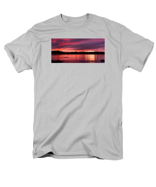 Twofold Bay Sunset Men's T-Shirt  (Regular Fit) by Racheal  Christian