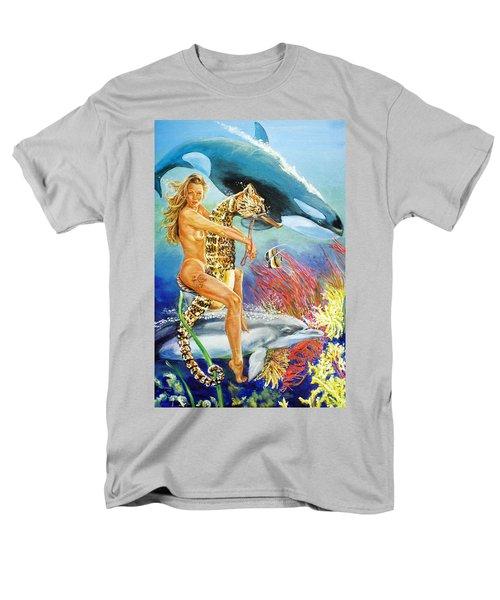 Undersea Fantasy Men's T-Shirt  (Regular Fit) by Bryan Bustard