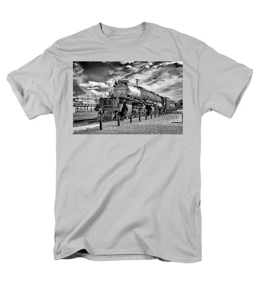 Men's T-Shirt  (Regular Fit) featuring the photograph Union Pacific 4-8-8-4 Big Boy by Paul W Faust - Impressions of Light