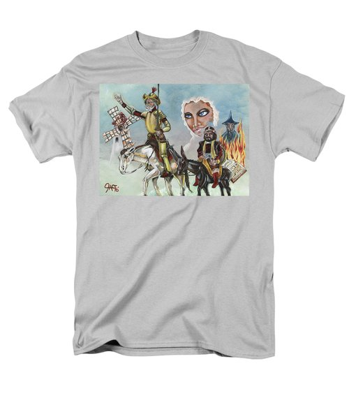Men's T-Shirt  (Regular Fit) featuring the painting Unreachable Star by JA George AKA The GYPSY