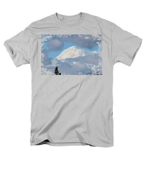 Up In The Clouds Men's T-Shirt  (Regular Fit) by Di Designs