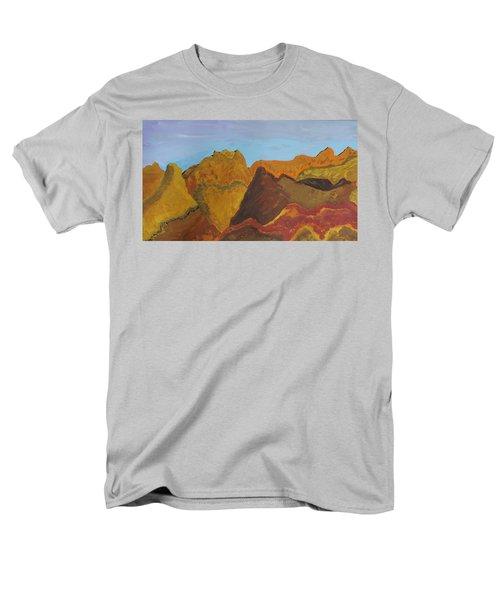 Utah Mountains Men's T-Shirt  (Regular Fit) by Don Koester