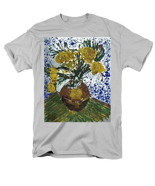 Van Gogh Men's T-Shirt  (Regular Fit) by J R Seymour