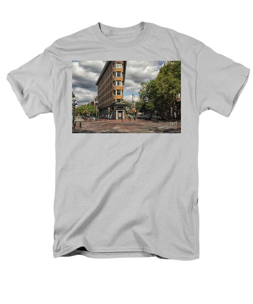 Vancouver City Life Men's T-Shirt  (Regular Fit) by Patricia Hofmeester