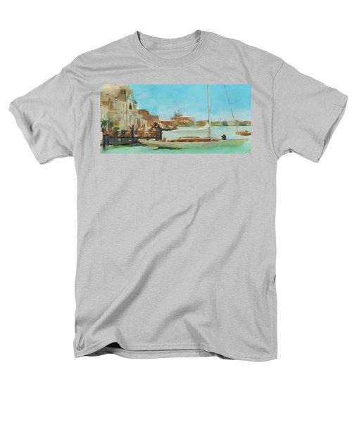 Venetian Canal Men's T-Shirt  (Regular Fit) by Sergey Lukashin