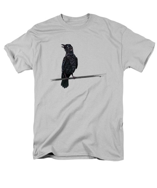 Verklempt Crow Men's T-Shirt  (Regular Fit) by ZH Field
