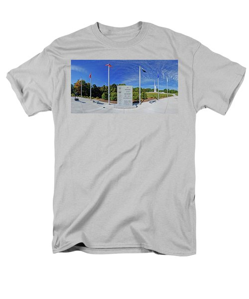Veterans Freedom Park, Cary Nc. Men's T-Shirt  (Regular Fit) by George Randy Bass