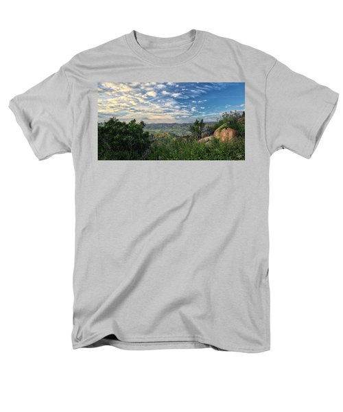 View Of Simi Valley Men's T-Shirt  (Regular Fit) by Endre Balogh
