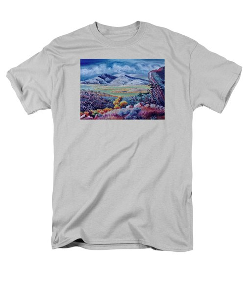 Men's T-Shirt  (Regular Fit) featuring the painting View South From Cedar Breaks by Dawn Senior-Trask