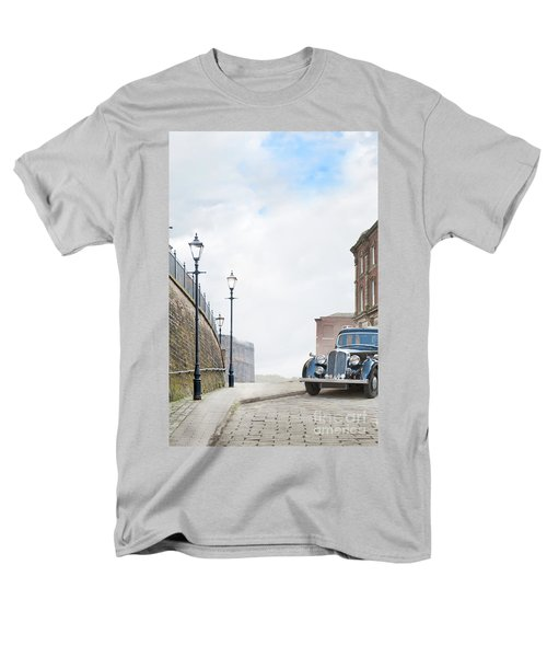 Vintage Car Parked On The Street Men's T-Shirt  (Regular Fit) by Lee Avison