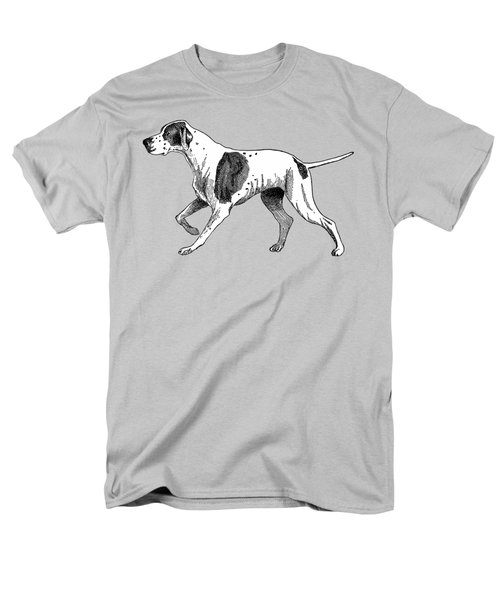 Vintage German Shorthaired Pointer Men's T-Shirt  (Regular Fit) by Marian Cates