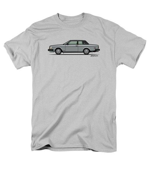 Volvo 262c Bertone Brick Coupe 200 Series Silver Men's T-Shirt  (Regular Fit) by Monkey Crisis On Mars