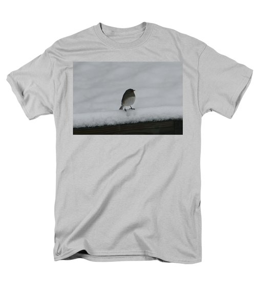 Men's T-Shirt  (Regular Fit) featuring the digital art Waiting For Spring by Barbara S Nickerson